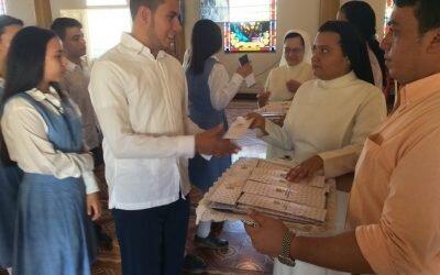Eucaristía de bendición de lápices