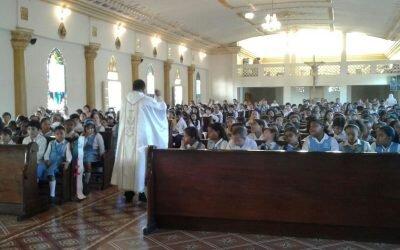 Eucaristía a Santo Domingo de Guzmán