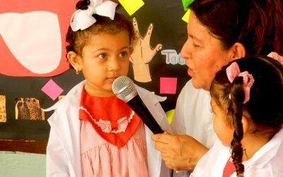 """Socialización Proyecto No 1 Preescolar """"Explorando y aprendiendo me voy conociendo"""""""