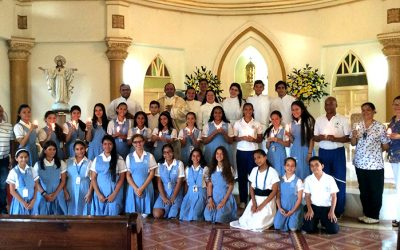 Eucaristía de Pascua Bachillerato