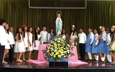 Inauguración Mayo mes de la Virgen María