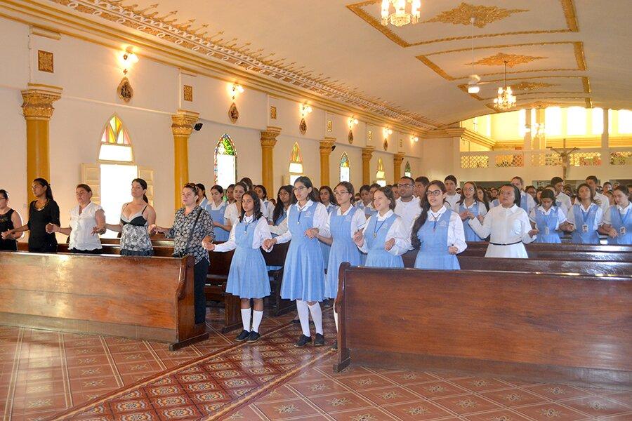 Eucaristía Inicio II Semestre Bachillerato