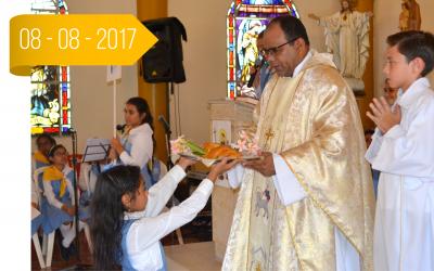 Eucaristía Santo Domingo de Guzmán Primaria