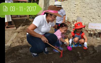 """Socialización Proyecto No. 4: """"Siembra y cuida el Planeta Tierra dejando una Huella Verde"""""""