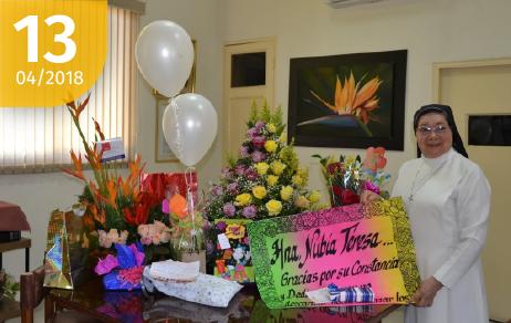 ¡Feliz cumpleaños! Hermana Nubia Teresa